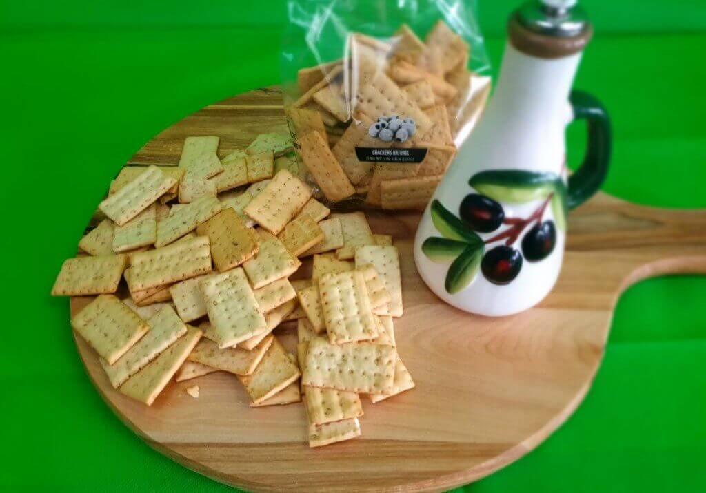 Cracker met extra vergine olijfolie