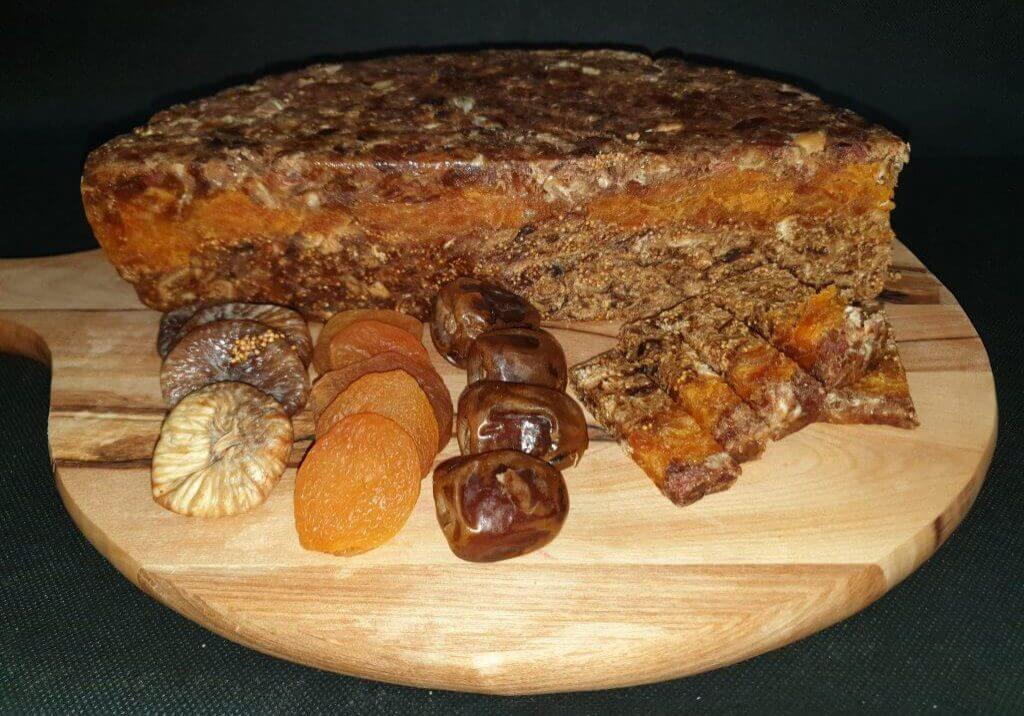 Vijgenbrood dadel abrikoos vijg